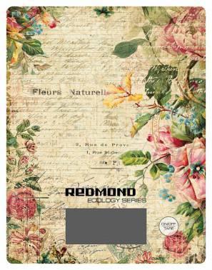 Кухонные весы Redmond RS-736 рисунок/цветы (RS-736 (ЦВЕТЫ))