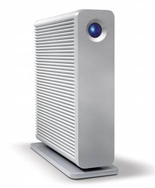 Внешний жесткий диск 3Tb Lacie LAC301549EK D2 Quadra серебристый USB 3.0