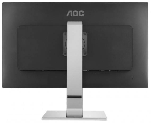 "Монитор 31.5"" AOC Professional U3277PWQU серебристый/черный - фото 2"