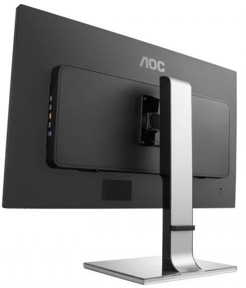 "Монитор 31.5"" AOC Professional U3277PWQU серебристый/черный - фото 3"