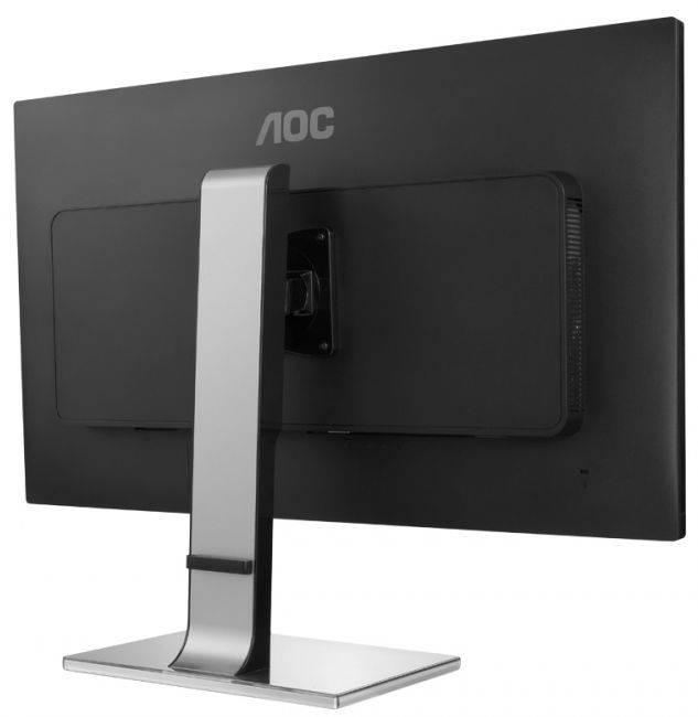 "Монитор 31.5"" AOC Professional U3277PWQU серебристый/черный - фото 4"