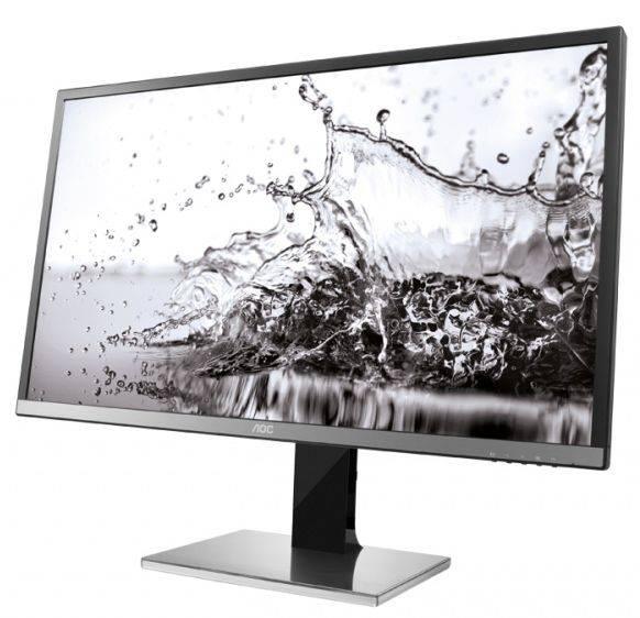 "Монитор 31.5"" AOC Professional U3277PWQU серебристый/черный - фото 6"