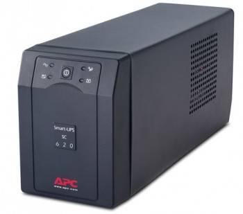 ИБП APC Smart-UPS SC SC620I черный