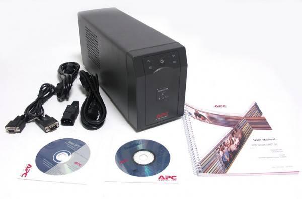 ИБП APC Smart-UPS SC SC420I черный - фото 3