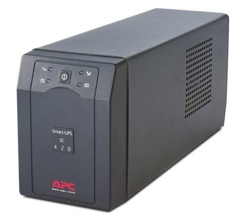 ИБП APC Smart-UPS SC SC420I черный - фото 1