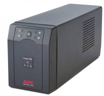 ИБП APC Smart-UPS SC SC420I черный