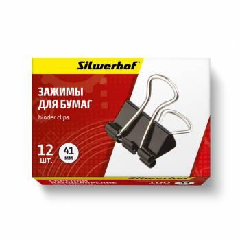 Зажимы Silwerhof 510005 черный