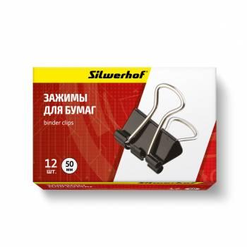 Зажимы Silwerhof 510006 черный