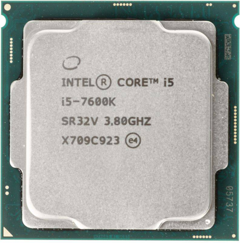 Процессор Intel Core i5 7600K Socket-1151 OEM - фото 1
