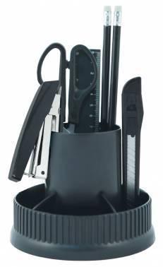 Настольный набор Silwerhof 172011-01 черный 12 предметов