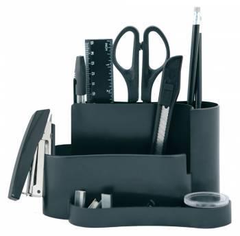 Настольный набор Silwerhof 172014-01 черный 12 предметов