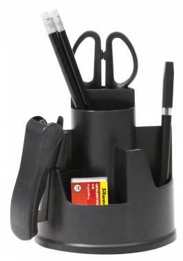 Настольный набор Silwerhof черный 8 предметов (172005-01)