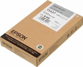 Картридж струйный Epson T5437 серый (C13T543700)