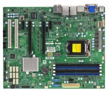 Серверная материнская плата Soc-1151 SuperMicro MBD-X11SAE-F-B ATX