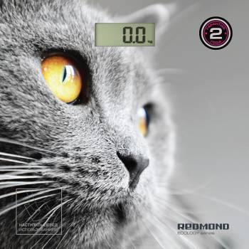 Весы напольные электронные Redmond RS-735 рисунок (RS-735 (КОШКА))