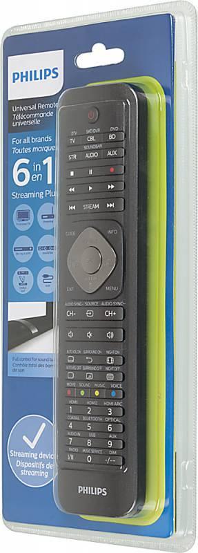 Универсальный пульт Philips SRP5016/10 черный - фото 3