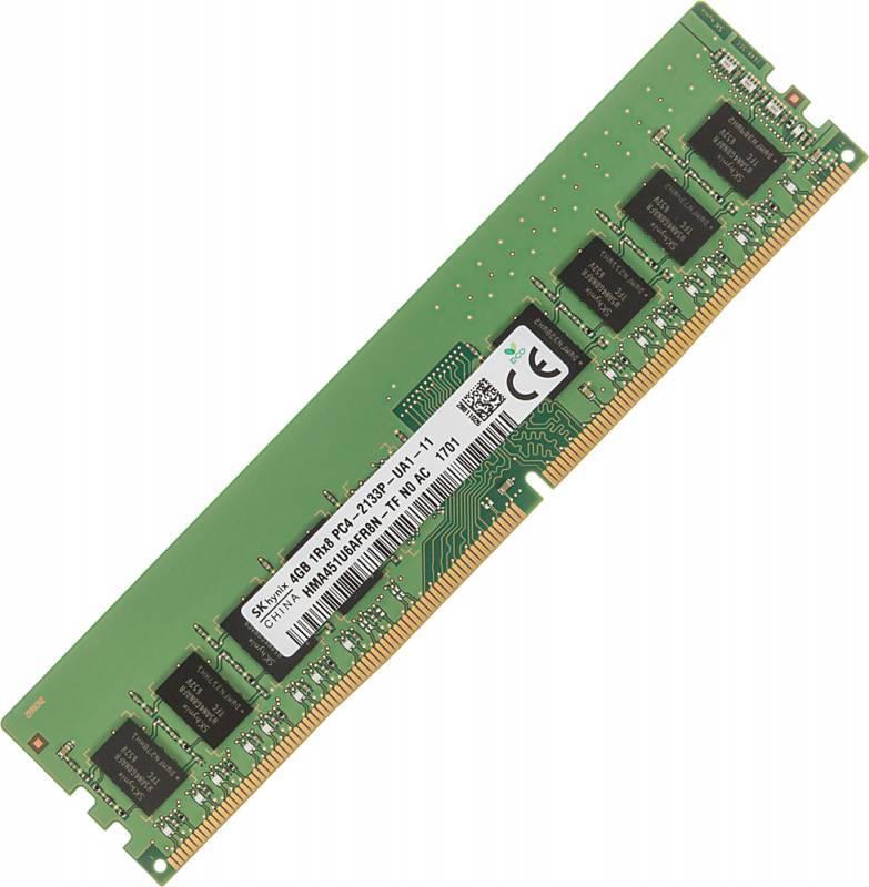 Модуль памяти DIMM DDR4 4Gb Hynix (HMA451U6AFR8N-TFN0) - фото 1