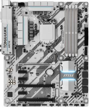 Материнская плата Soc-1151 MSI Z270 TOMAHAWK ARCTIC ATX