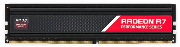 Модуль памяти DIMM DDR4 4Gb AMD (R744G2133U1S-UO) - фото 1