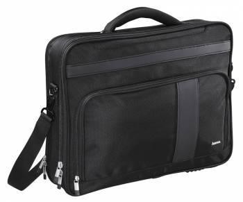Сумка для ноутбука Hama Dublin Life черный, полиэстер, рекомендуемая диагональ 17.3, съемный ремень, карманов внешних: 2шт, карманов внутренних: 2шт (00101278)