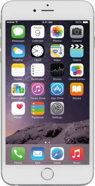 Смартфон Apple FGA92RU/A iPhone 6 Plus 16Gb Как новый серебристый моноблок 3G 4G 5.5 1920x1080 iPhone iOS 8 8Mpix WiFi BT GSM900/1800 GSM1900 TouchSc MP3 A-GPS