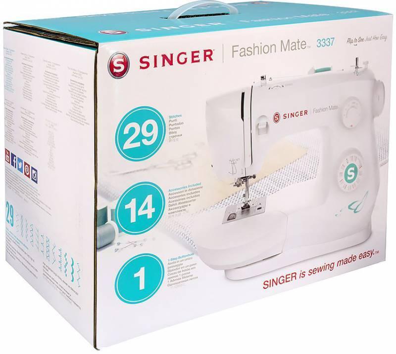 Швейная машина Singer Fashion Mate 3337 белый (FASHION  MATE  3337) - фото 3