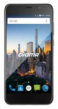 Смартфон Digma CITI MOTION 4G черный, встроенная память 16Gb, дисплей 5 1280x720, Android 6.0, камера 8Mpix, поддержка 3G, 4G, 2Sim, 802.11bgn, BT, GPS, FM радио, microSD до 128Gb