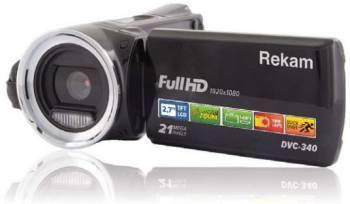 Видеокамера Rekam DVC-340 черный (2504000001)