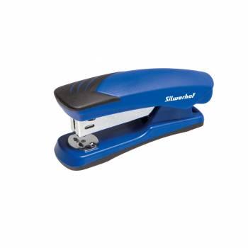 Степлер Silwerhof SHARK синий/черный (401022-28)