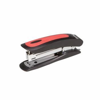 Степлер Silwerhof CORTEX черный/красный (401009-28)