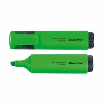 Текстовыделитель Silwerhof 108032-03 зеленый