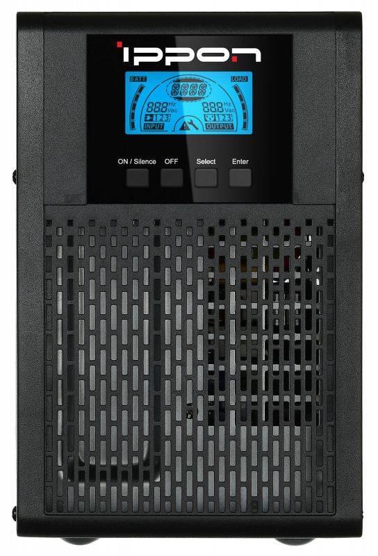 ИБП Ippon Innova G2 1000 черный (G2 1000) - фото 1