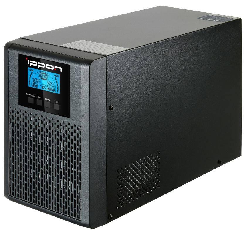 ИБП Ippon Innova G2 1000 черный (G2 1000) - фото 2