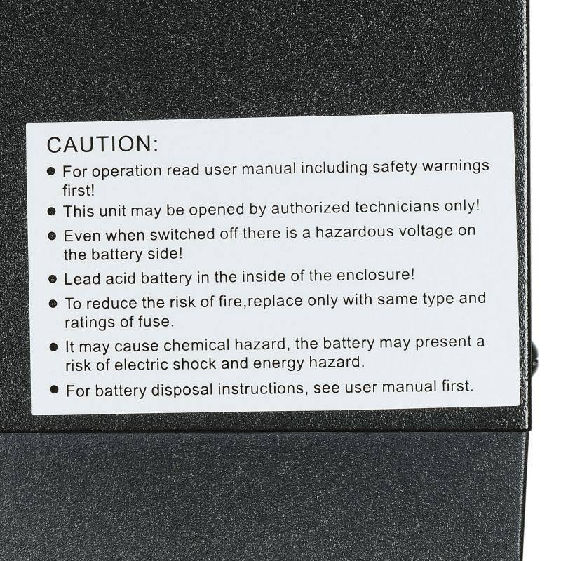 ИБП Ippon Innova G2 1000 черный (G2 1000) - фото 8