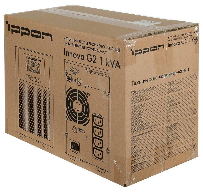 ИБП Ippon Innova G2 1000 (G2 1000) - фото 16