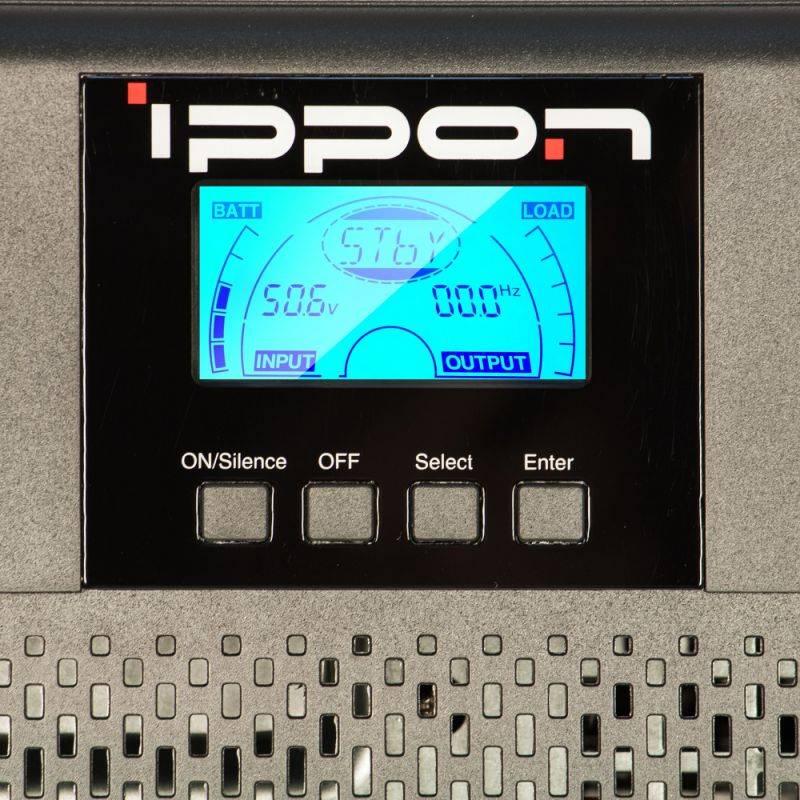 ИБП Ippon Innova G2 2000 черный (G2 2000) - фото 13