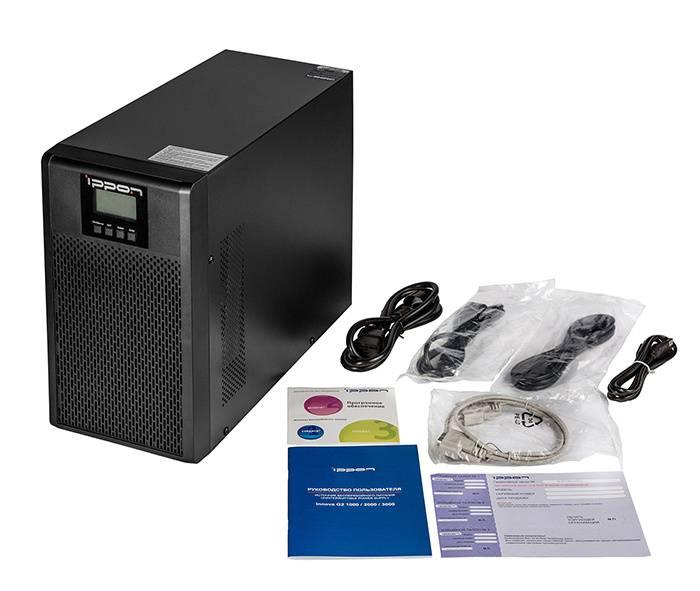ИБП Ippon Innova G2 3000 черный (G2 3000) - фото 9