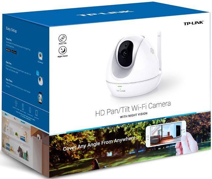 Камера видеонаблюдения TP-Link NC450 белый - фото 5