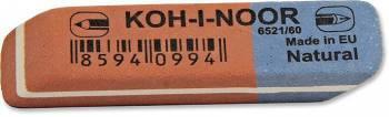 Ластик Koh-I-Noor BLUE STAR красный/синий (6521060010KDRU)