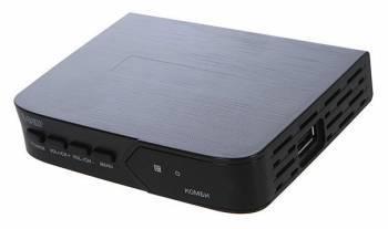 Ресивер DVB-T2 Сигнал Эфир Комби-2 черный