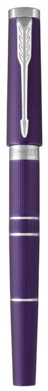 Ручка 5й пишущий узел Parker Ingenuity Deluxe S F504 Blue Violet CT (1931454) - фото 2