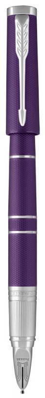 Ручка 5й пишущий узел Parker Ingenuity Deluxe S F504 Blue Violet CT (1931454) - фото 3