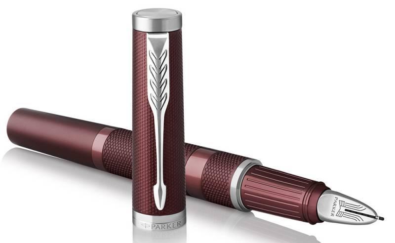 Ручка 5й пишущий узел Parker Ingenuity Deluxe L F504 Deep Red PVD (1972233) - фото 1