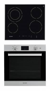 Встраиваемый комплект Indesit VRA 641 DBS + IFW 65Y0 IX серебристый черный