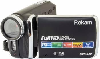 Видеокамера Rekam DVC-540 черный (2504000002)