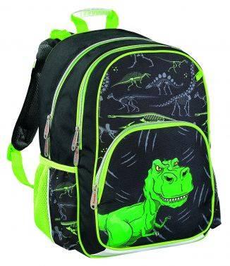 Рюкзак Hama DINO черный / зеленый