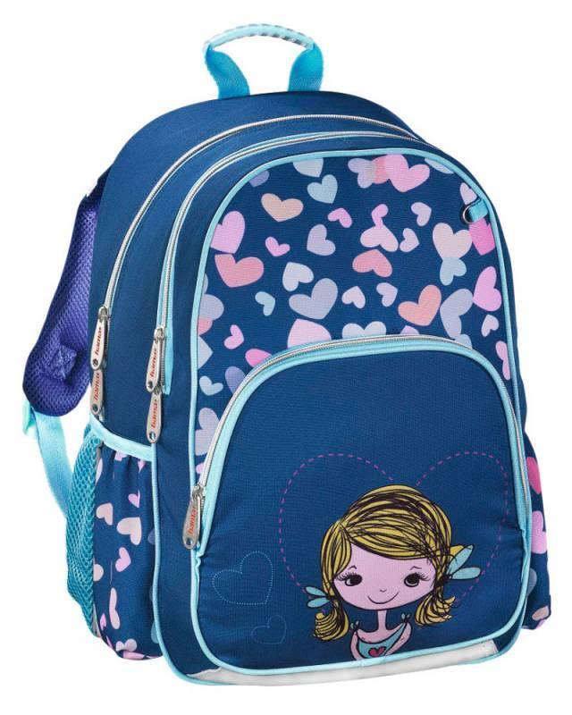 Рюкзак Hama Lovely Girl синий/голубой (00139091) - фото 1