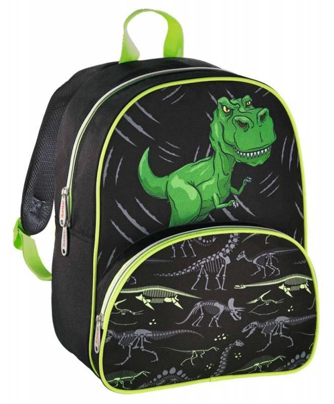 Рюкзак детский Hama DINO черный/зеленый (00139099) - фото 1