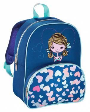 Рюкзак детский Hama LOVELY GIRL синий/голубой (00139103)