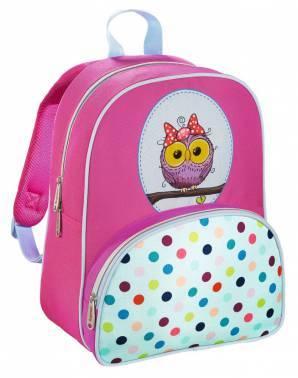 Рюкзак детский Hama SWEET OWL розовый/голубой (00139105)